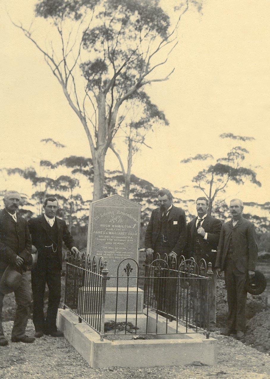 Hugh Shaw Coolgardie Cemetery