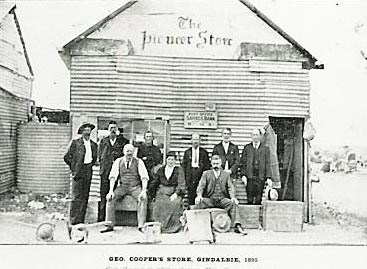 The Pioneer Store George Coopers Store Gindalbie 1905