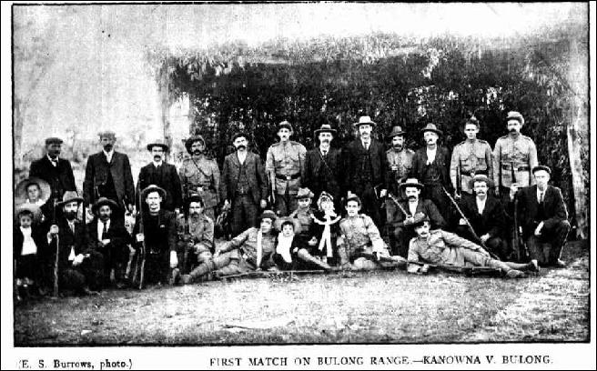 First Match Bulong V Kanowna