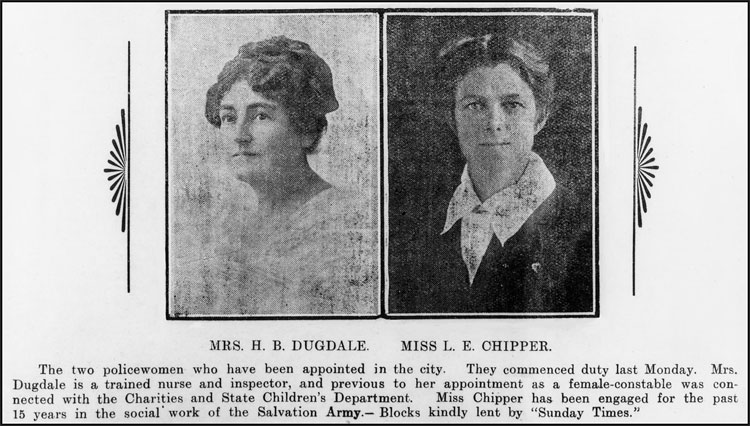 First Female Police Officer – Helen Dugdale