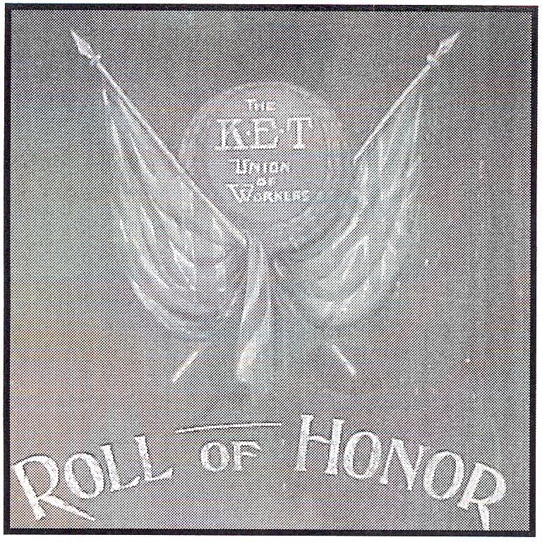 KET Honour Board