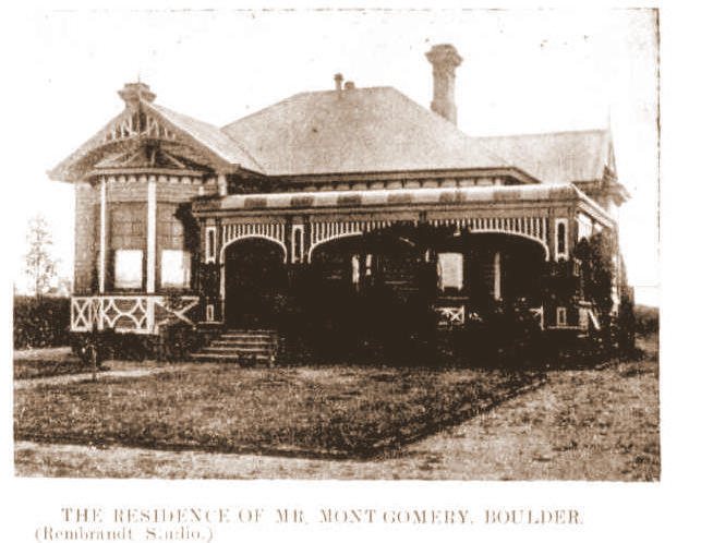 The Montgomery House 9th Nov 1909