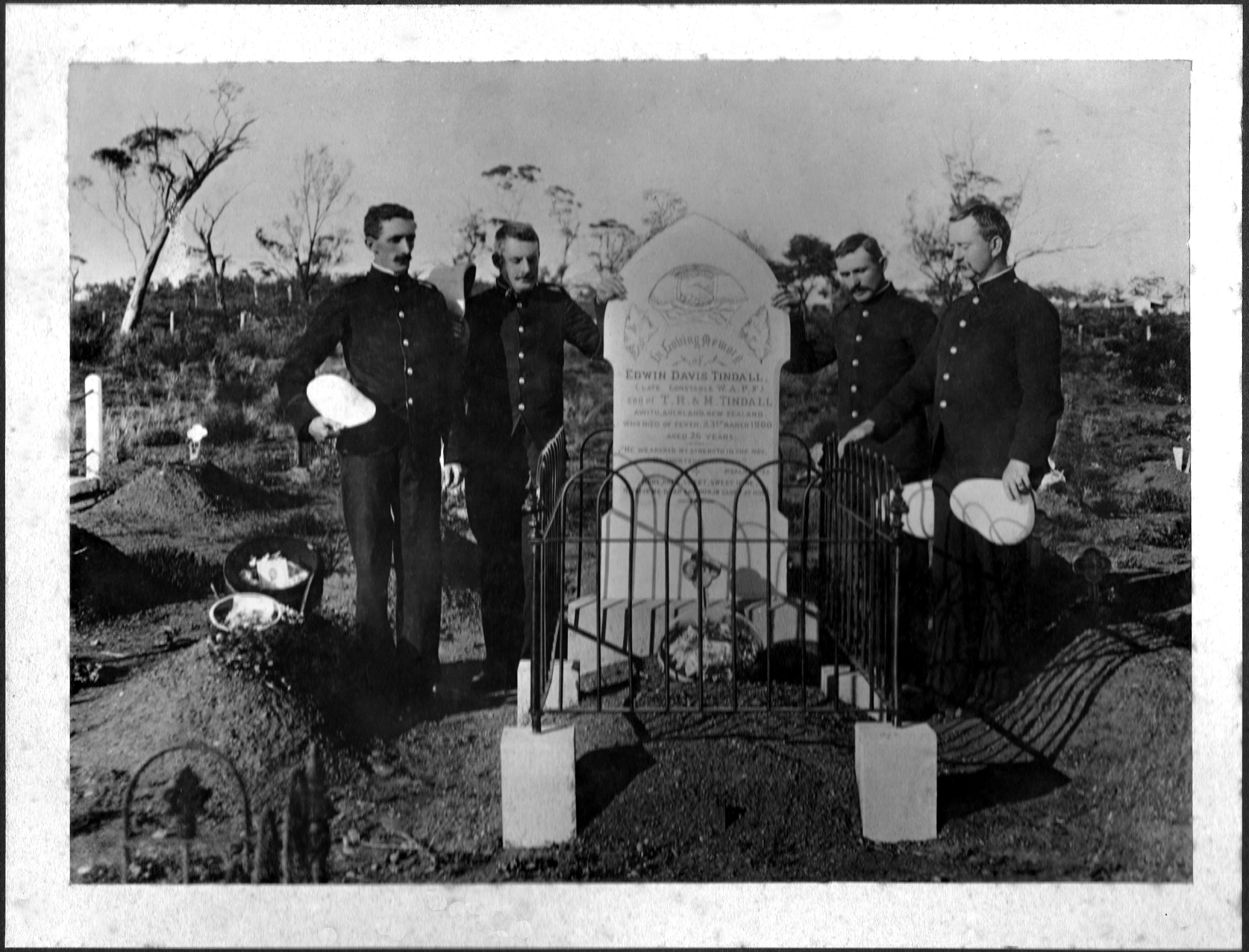 Const Edward Tindall – Grave Tales
