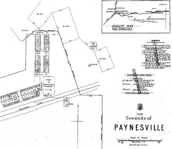 Paynesville – ghost town