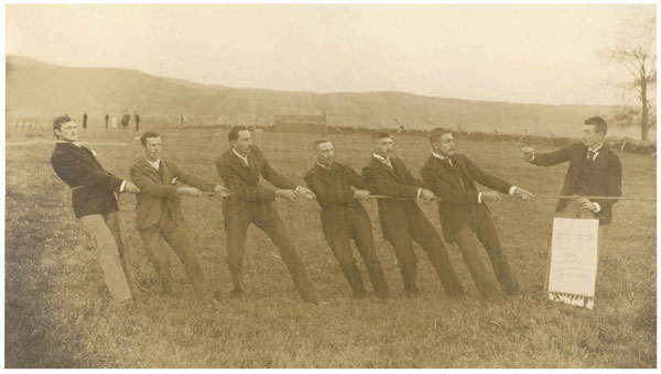 At the Tug-O-War – by Henry Lawson
