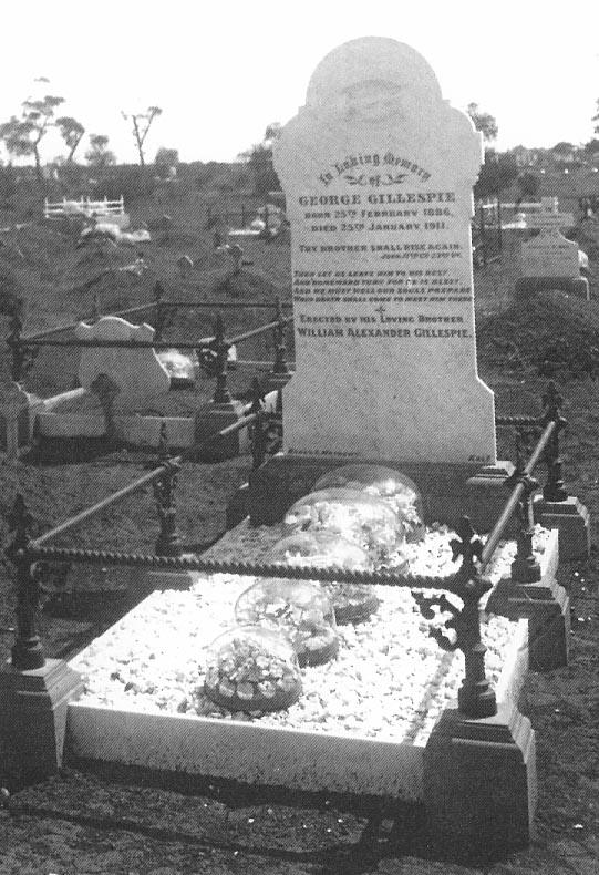 George Gillespie – grave tales