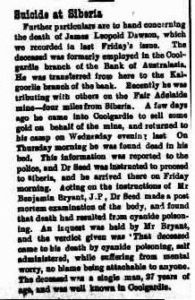 Coolgardie Miner - 5 Aug 1901