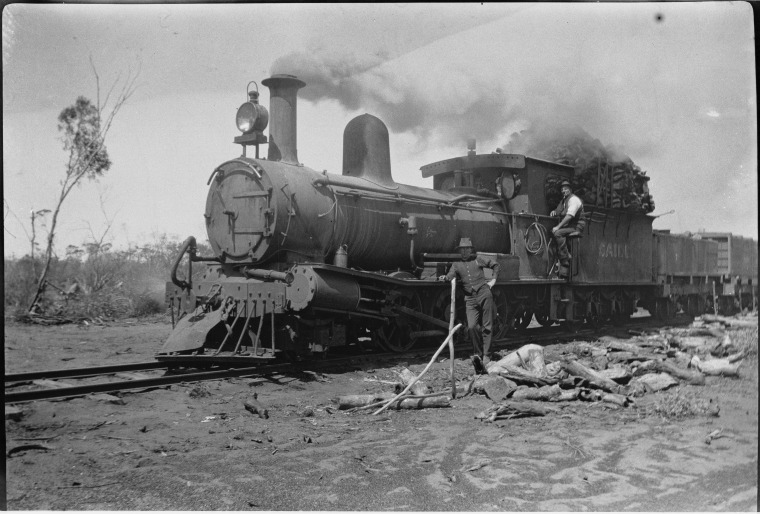 Trains with Names: ~ Outback Family History