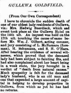 GULLEWA Suerdieck W.A. Record 11 September 1897, page 11