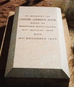 Kerr John James - Malcolm Cemetery
