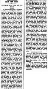 MARINONI Malcolm Chronicle and Leonora Advertiser 18 January 1902,