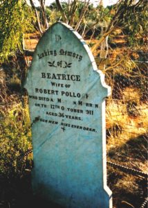 Pollock Beatrice - Malcolm Cemetery