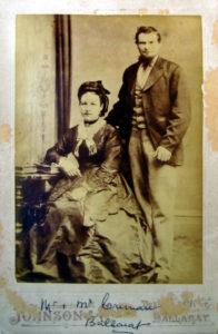 Michael Crenna and his wife Ellen nee Larkin who were married at St Alipius Catholic Church Ballarat Victoria in 1874